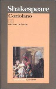 Copertina di 'Coriolano. Testo inglese a fronte'