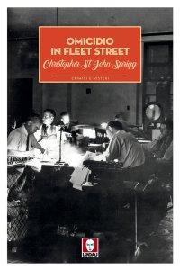 Copertina di 'Omicidio in Fleet Street'