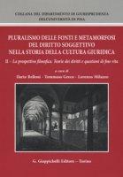 Pluralismo delle fonti e metamorfosi del diritto soggettivo nella storia della cultura giuridica