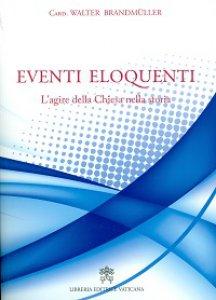 Copertina di 'Eventi eloquenti'