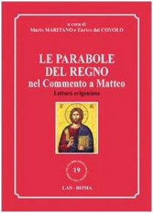 Copertina di 'Le parabole del regno nel commento a Matteo'