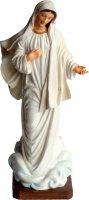 "Statua in resina colorata ""Madonna di Medjugorie"" - altezza 20 cm"