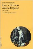 Inno a Nettuno-Odae adespotae (1816-1817) - Leopardi Giacomo