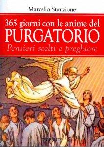 Copertina di '365 giorni in suffragio delle anime del purgatorio. Pensieri scelti e preghiere'