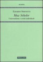 Max Scheler - Simonotti Edoardo