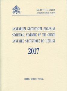 Copertina di 'Annuarium Statisticum Ecclesiae (2017)'