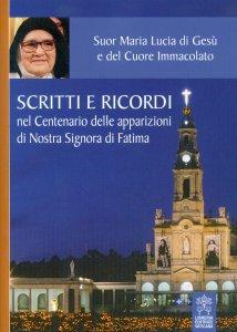 Copertina di 'Scritti e ricordi nel Centenario delle apparizioni di Nostra Signora di Fatima'