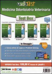 Copertina di 'Test box medicina odontoiatria veterinaria: Manuale di teoria-Eserciziario commentato-Prove di verifica-12.000 quiz. Con aggiornamento online'
