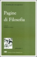 Pagine di filosofia - Tommaso d'Aquino (san)