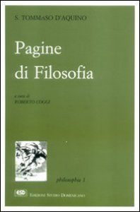 Copertina di 'Pagine di filosofia'
