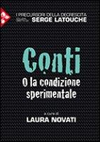 Conti O la condizione sperimentale - Novati Laura