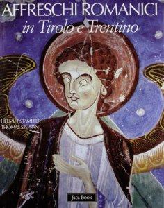 Copertina di 'Affreschi Romanici in Tirolo e Trentino'