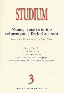 Copertina di 'Studium (2015) vol.3'