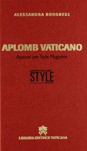 Copertina di 'Aplomb vaticano'