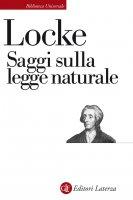 Saggi sulla legge naturale - John Locke