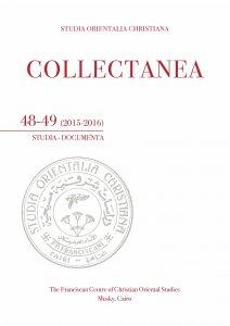 Copertina di 'Collectanea 48-49 (2015-2016)'