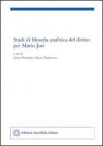 Copertina di 'Studi di filosofia analitica del diritto per Mario Jori'