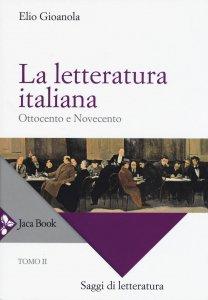 Copertina di 'La letteratura italiana'