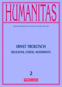 Copertina di 'Humanitas. 2/2016 Ernst Troeltsch. Religioni, Chiese, Modernità.'