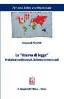 """La """"riserva di legge"""" - Giovanni Piccirilli"""