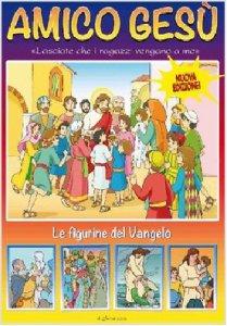 Copertina di 'Amico Gesù -Scatola 60 bustine figurine'