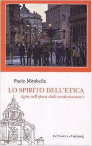 Copertina di 'Lo spirito dell'etica'