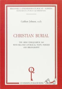 Copertina di 'Christian burial. The Ordo exsequiarum 1969'