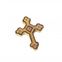 Copertina di 'Crocifisso da parete in ceramica - 9,5 cm'
