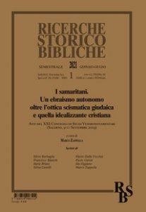Copertina di 'Ricerche storico-bibliche (2021)'