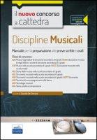 CC4/52 Discipline musicali nella scuola secondaria. Per le classi A29, A30, A53, A55, A56, A59, A63, A64. Con espansione online - De Simone Claudia