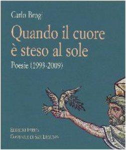 Copertina di 'Quando il cuore è steso al sole. Poesie (1993-2009)'