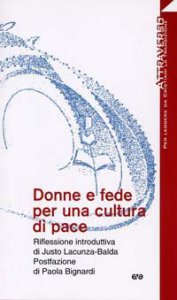 Copertina di 'Donne e fede per una cultura di pace'