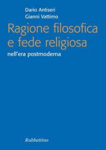 Copertina di 'Ragione filosofica e fede religiosa'