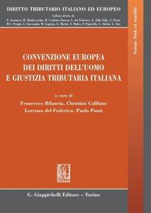 Copertina di 'Convenzione europea dei diritti dell'uomo e giustizia tributaria italiana'