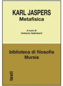 Copertina di 'Metafisica'