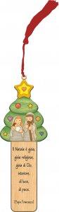 """Copertina di 'Segnalibro magnetico """"Il Natale è gioia"""" - altezza 15 cm'"""
