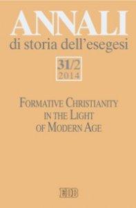 Copertina di 'Annali di storia dell'esegesi 31/2(2014)'