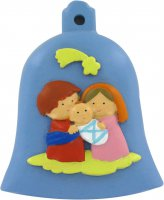 Natività a forma di campana da 8 cm - linea bambini