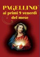 Coroncina al Sacro Cuore di Gesù e pagellino ai primi 9 venerdì del mese