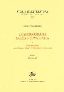 Copertina di 'La storiografia della nuova Italia'