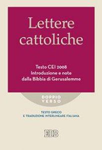 Copertina di 'Lettere cattoliche Testo CEI 2008'