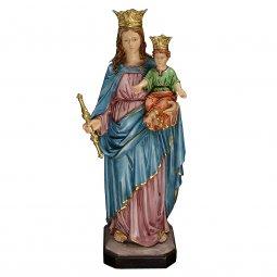 "Copertina di 'Statua in resina colorata ""Maria Ausiliatrice"" - altezza 60 cm'"