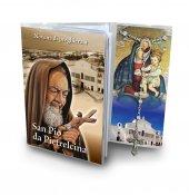 "Libretto ""Novena a San Pio da Pietrelcina"" con rosario - italiano"