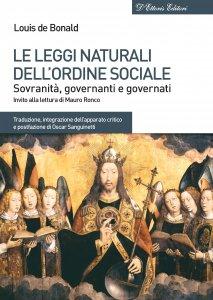 Copertina di 'Le leggi naturali dell'ordine sociale'