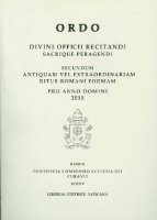 Ordo divini officii recitandi sacrique peragendi 2015