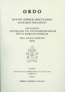 Copertina di 'Ordo divini officii recitandi sacrique peragendi 2015'