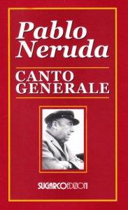 Copertina di 'Canto generale. Testo spagnolo a fronte'