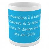 """Immagine di 'SpiriTazza """"La conversione"""" (Gianfranco Ravasi) - Mod. Celeste'"""