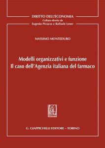 Copertina di 'Modelli organizzativi e funzione'
