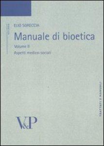 Copertina di 'Manuale di bioetica'